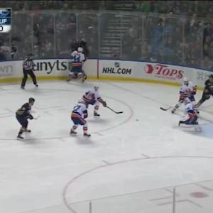 Kevin Poulin Save on Mikhail Grigorenko (09:00/1st)
