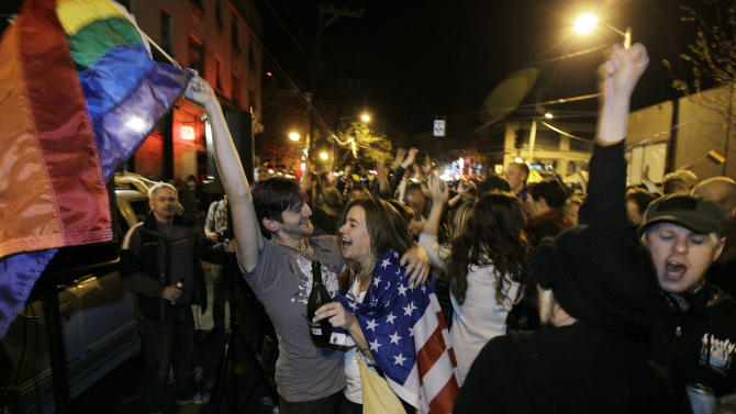 Washington voters approve gay marriage
