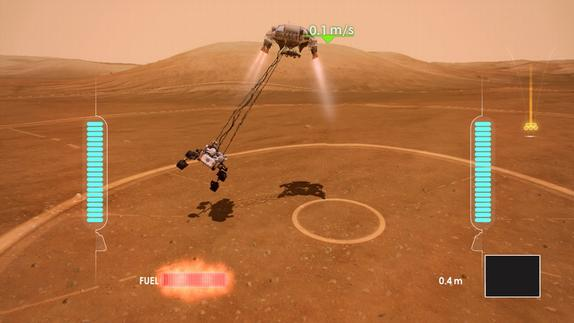 NASA Unveils Free 'Mars Rover Landing' Game for Xbox Live