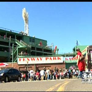 Red Sox Fans Forget Long Winter At Fenway Opener