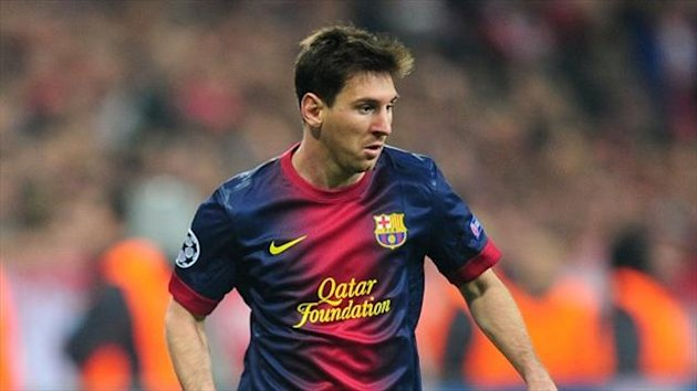 Lionel Messi's hat-trick guided Barcelona to victory