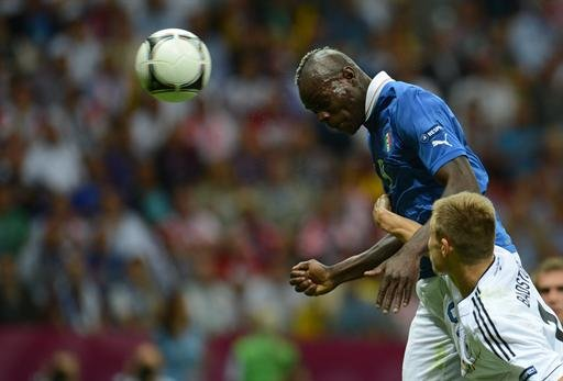 Italy/Germany - Enfant terrible Balotelli conquers man's world