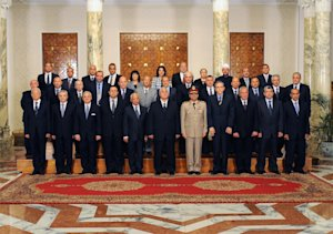 This image released by the Egyptian Presidency on Tuesday, …