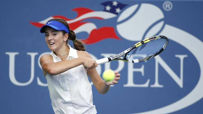 US OPEN SCENE: For CiCi Bellis, back to reality