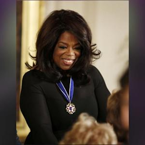 Oprah Winfrey Awarded The Presidential Medal Of Freedom