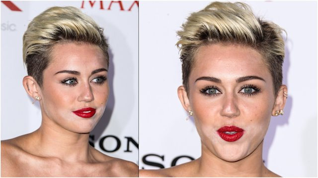 El descuido de Miley Cyrus