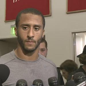 Raw Video: Colin Kaepernick Speaks With Reporters About NFL Fine, Cardinals Preparation