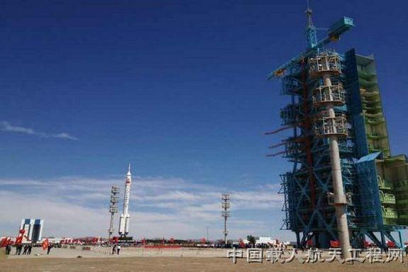 China to Launch 3 Astronauts to Space Lab This Month