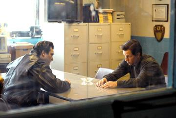 Joaquin Phoenix and Mark Wahlberg in Columbia Pictures' We Own the Night