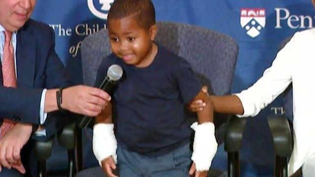 Baltimore boy receives new hands