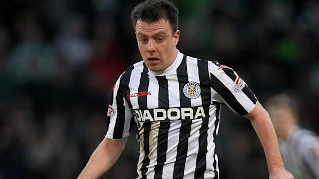 Paul McGowan grabbed the equaliser for St Mirren (PA Photos)
