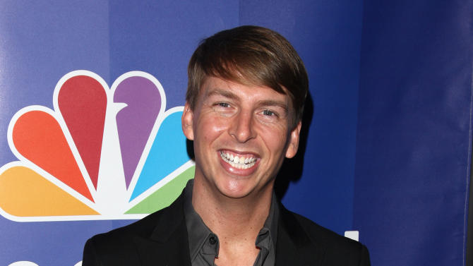 """FILE - In this May 17, 2010 file photo, actor Jack McBrayer attends the NBC Universal's Upfront presentation in New York. McBrayer stars in the animated film, """"Wreck-It-Ralph,"""" which opened on Nov. 2, 2012,   (AP Photo/Peter Kramer, File)"""