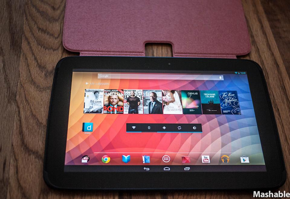 Nexus 10: Can Google Compete With the iPad? [REVIEW]