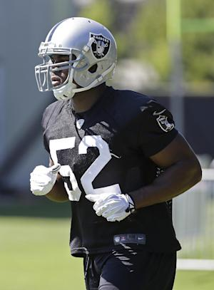 Raiders have high hopes for rookie Khalil Mack