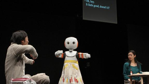 Robots Share Stage With Actors in New Show