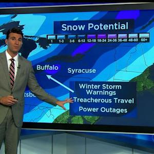 Where is the winter storm system headed?