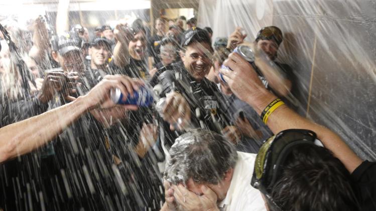 Pittsburgh embracing playoff-bound Pirates
