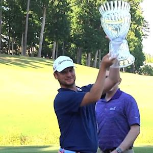 Kyle Thompson earns third title win in playoff at the Rex Hospital Open
