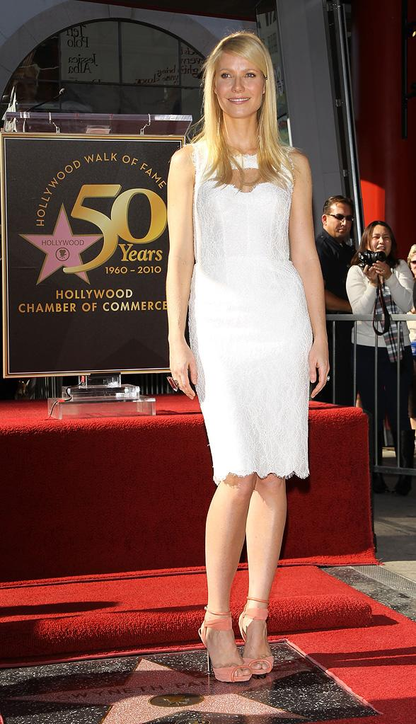 Gwyneth Paltrow 2010 Star Ceremony