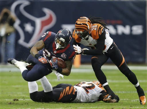 Houston beats Bengals 19-13 in wild-card playoff