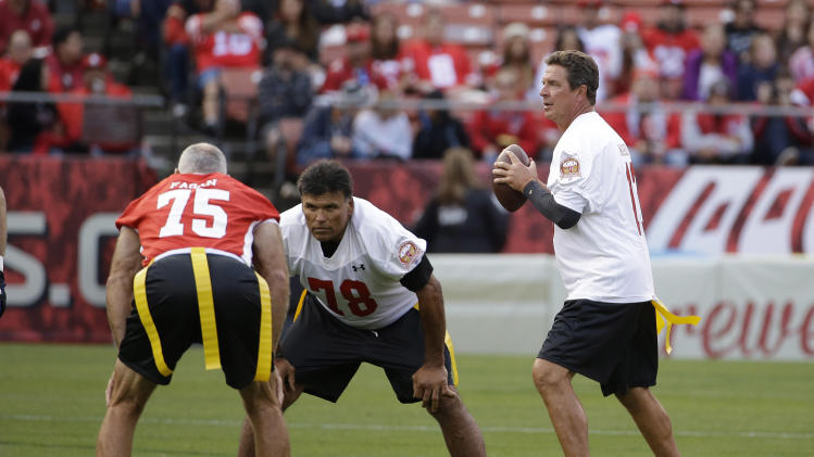 """, """"Legends of Candlestick"""" flag football game Saturday, July 12, 2014"""
