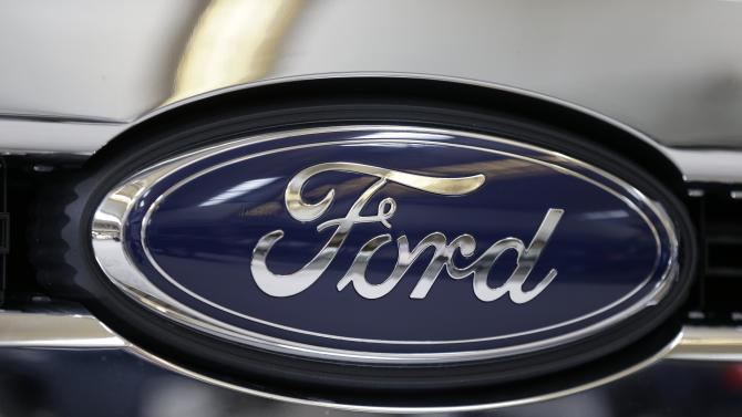 Ford's 1Q profit falls 39 percent; shares drop