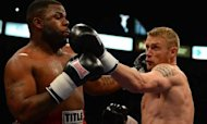 Freddie Flintoff Wins First Heavyweight Fight