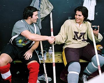 Patrick O'Brien Dempsey and Nathan West in Disney's Miracle