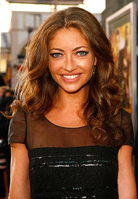 Rebecca Gayheart at the Hollywood premiere of New Line Cinema's Rush Hour 3