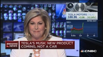 Tesla's 'major new product line'-is it a battery?