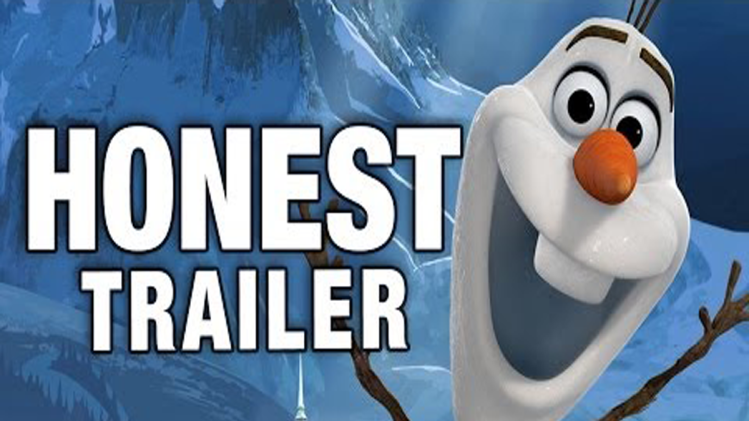 Disney's 'Frozen' Gets The Honest Trailer Treatment