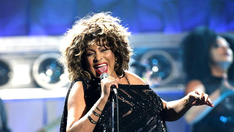 Tina Turner Live Performance At Gelredome Netherlands
