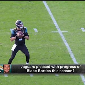 Are Jaguars pleased with Bortles?