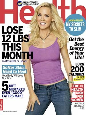 Jennie Garth on the cover of Health (Jan/Feb 2013) -- Health Magazine