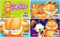 Official Garfield VISA® Prepaid Debit Cards now available through a partnership with CARD.com
