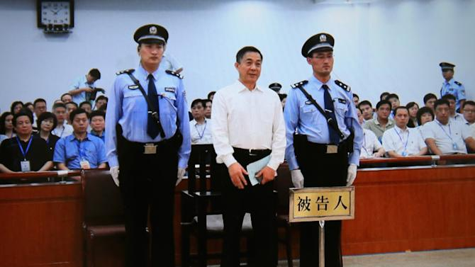 Ousted Chinese Politician Bo Xilai Trail - Sentence