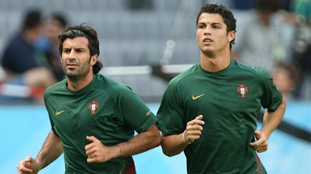 luis figo, cristiano ronaldo