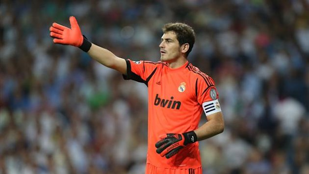 Real Madrid goalkeeper Iker Casillas (REUTERS)