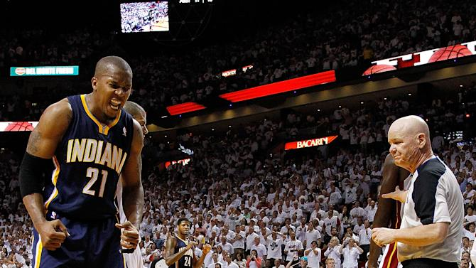 Indiana Pacers v Miami Heat - Game Two