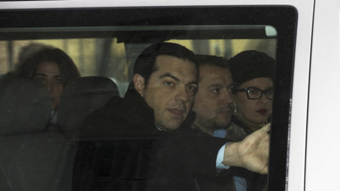 Germany, Greek opposition clash on austerity