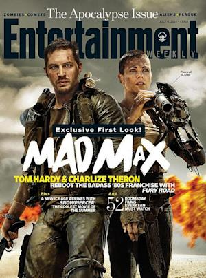 "Tom Hardy (""The Dark Knight Rises"") takes over the part of ex-cop Max (originally played by Mel Gibson in the 1980s) alongside Charlize Theron."