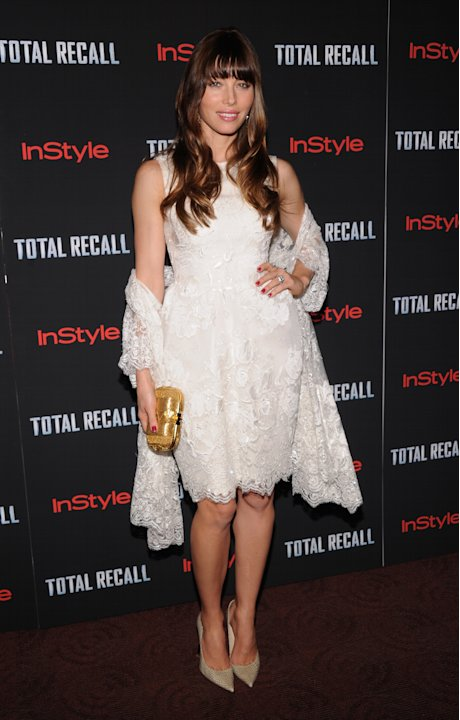 """Total Recall"" New York Premiere - Inside Arrivals"