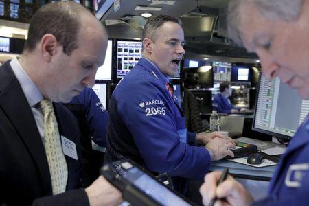 Shares gain as global economy fears ease; oil rallies