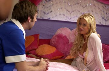Joel David Moore and Paris Hilton in Regent Releasing's The Hottie and the Nottie
