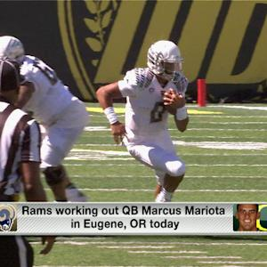 Rams working out Marcus Mariota on Thursday