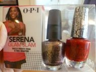 OPI shatter polish serena williams