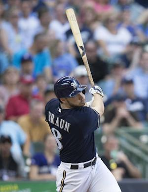 Brewers' Braun leaves with back spasms