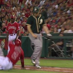 Umpires rule interference