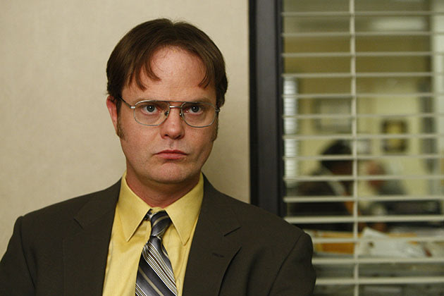 "THE OFFICE -- ""The Meeting"" Episode 602 -- Pictured: Rainn Wilson as Dwight Schrute -- NBC Photo: Trae Patton"
