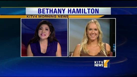 Bethany Hamilton encourages teen girls to be active